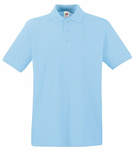 F511N Premium Polo, Farbe:Sky Blue;Größen:XXL XXL,Sky Blue