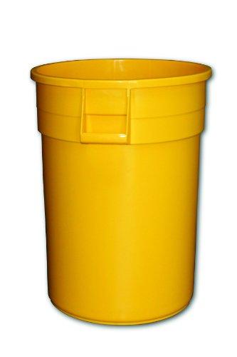 Impact 7744-16 Gator Plastic Container, 44 Gallon Capacity, 23-3/4