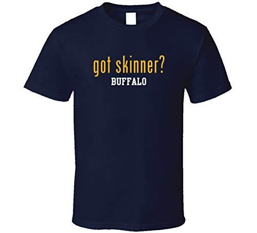 Got Jeff Skinner Buffalo Hockey Player Sports Parody Fan T Shirt L Navy