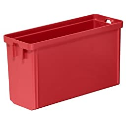 Akro-Mils Multi Load Tote 1/4 Cup Red, Grey (6 Pack)