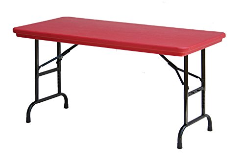 Card Duty (Correll R3072-25 R series, Blow Molded Plastic Commercial Duty Folding Table, Rectangular, 30