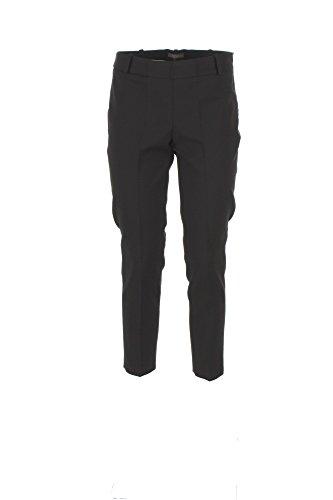 Pantalone Donna Kocca 44 Nero Amalio Autunno Inverno 2017/18