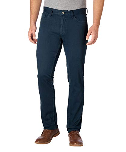 Calvin Klein Men's Slim Straight Fit Denim Jean (38 x 34, Indigo Steel (Blue))