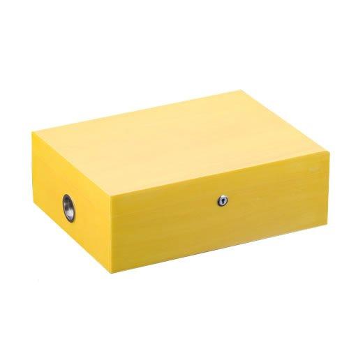 Siglo Vibrant Series Humidor - 200 Cigars -Sunny Yellow