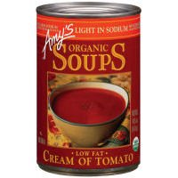 Amy's Organic Cream Of Tomato Soup - Light In Sodium (Case Count: 12 per case) (Case Contains: 168 OZ) (Item Size: 14 OZ)