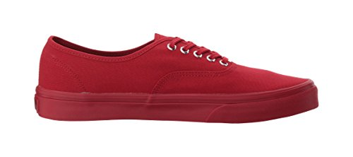 Authentic silver Vans Red primary Mono AxaC4