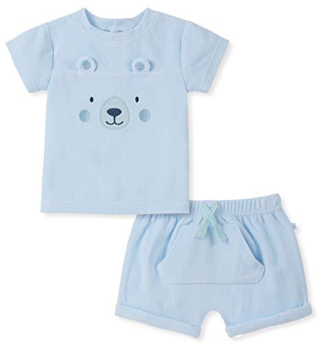 absorba Baby Boys 2 Pieces Shorts Set, Blue 24M ()