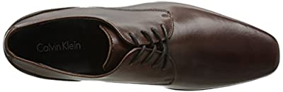 Calvin Klein Men's Brodie Burnished Leather Oxford