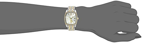 U.S. Polo Assn. Women's Quartz Metal and Alloy Casual Watch, Color Two Tone (Model: USC40245AZ)