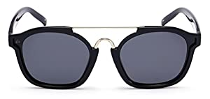 "PRIVÉ REVAUX ""The Underdog"" Handcrafted Designer Retro Square Polarized Sunglasses For Men & Women"