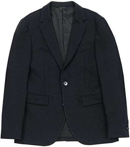 【COMME CA MEN】コムサメン ソフトサーモ ビジカジ テーラードジャケット 黒