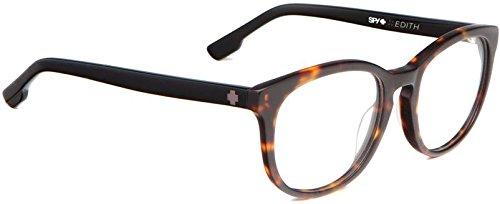 Spy Optic Unisex Edith RX Frame, Matte Dark Tort/Black, (Spy Shapes)