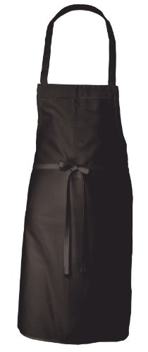 Chef Works Bib Apron, Black, One Size ()
