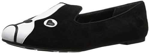 Marc by Marc Jacobs Womens Shorty Slipper Loafer Flat Black 37 EU7 M US