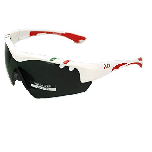 AD Sports QuasarF2 Goggles| Glasses|Sunglasses with 1.6mm Polarized Lenses,Glare-Free,UV100% Resistance & PC Frame (White)+Packing Box Price & Reviews