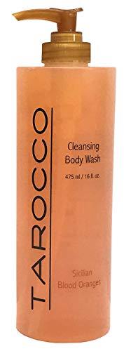 Baronessa Cali Tarocco Sicilian Blood Red Orange Body Wash - Clean, Refreshing, Invigorating - 16 Fluid -