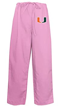 Ladies University of Miami Pants Miami Canes Scrubs - Bottoms for Women