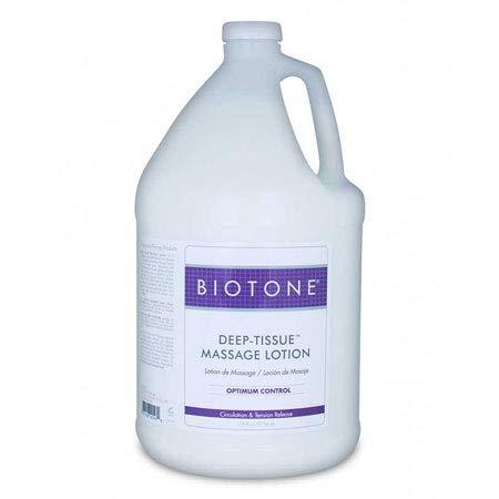Biotone Deep Tissue Massage Lotion, 128 Ounce ()
