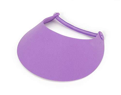 Darice Vinyl Coil-Purple-8.75 x 3.75 inches Foamies Visor One Size
