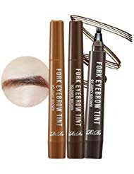 [RIRE] Fork Tattoo Eyebrow Lasts up to 8 days! Long Lasting Waterproof Tattoo Eyebrow (#03. light brown)