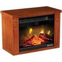 Amazon.com: Heat Surge Mini Mate Decorative Heater: Home ...