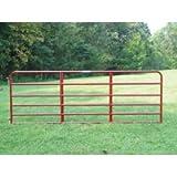 6er6 Red 6bar Econ Gate 6 ft.