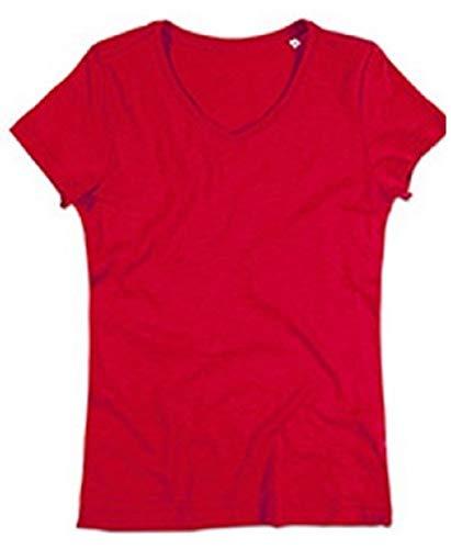 Crimson Red Ltd Mujer de Absab Camiseta xwcZqY01Rv