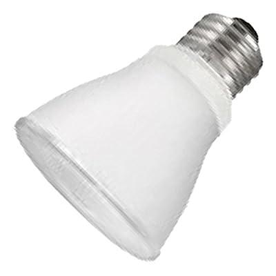 LED - 8 Watt - PAR20 - 50W Equal - 754 Candlepower - 40 Deg. Flood - 2400K Warm White - TCP LED8P2024KFL