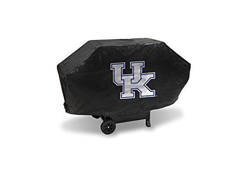 Rico Industries NCAA Kentucky Wildcats Deluxe Grill Cover, 68'' x 21'' x 35'', Black