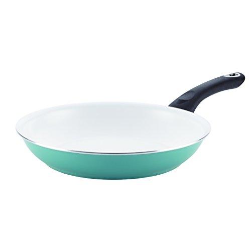 Farberware 17503 Purecook Ceramic Nonstick Cookware 10-inch Skillet, Small, Aqua