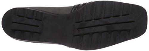 Theresia Muck 800 - Zapatillas de casa de cuero mujer, color gris, talla 43