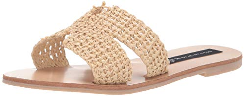 - STEVEN by Steve Madden Women's Greece Sandal, Natural Multi, 8 M US