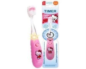 Hello Kitty Cepillo de dientes para niño suave con temporizador