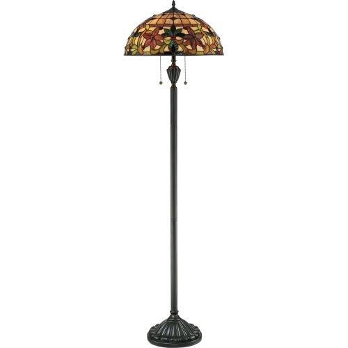 Quoizel TF878F 2-Light Kami Floor Lamp, 18