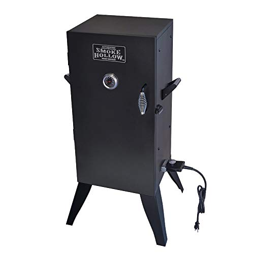 (Smoke Hollow 30162E 30-Inch Electric Smoker with Adjustable Temperature Control)