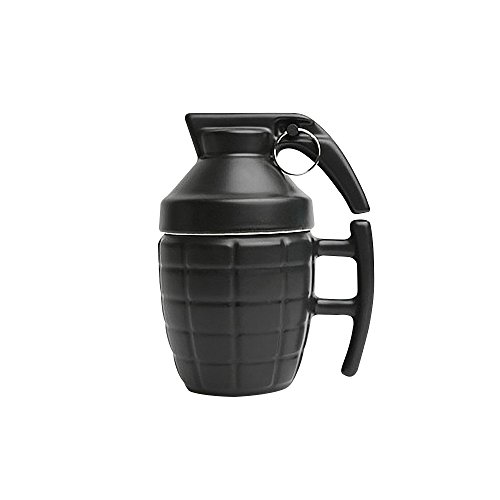Grenade cup, grenade wine glass, ceramic coffee cup