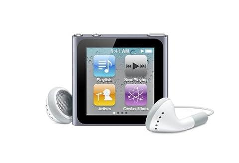 Apple iPod nano 8 GB Graphite (6th Generation) Discontinued Model (In Plain White Box) (Ipod 8gb 4th Gen)