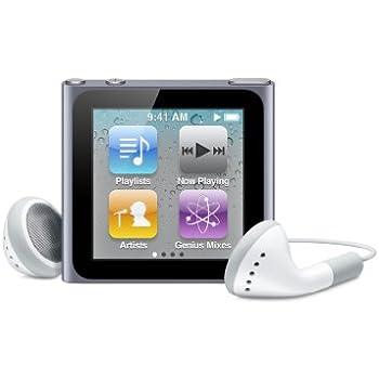 Apple iPod nano 8 GB Graphite (6th Generation) Discontinued Model (In Plain White Box)