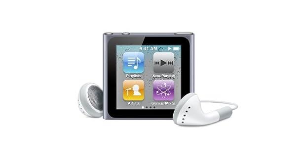 Amazon.com: Apple iPod Nano 6G de 16 GB, modelo viejo ...