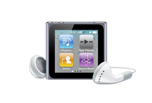 Apple iPod nano 16 GB Graphite (6th Generation) discontinued Model (In Plain White Box) (16 Nano Ipod)