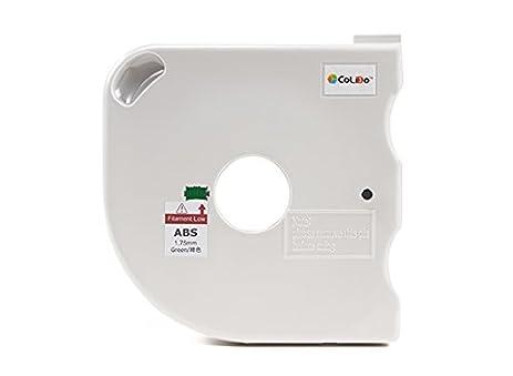 CoLiDo 3D Printer Filament 175mm ABS 500g Spool W Cartridge Green