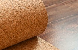 Natural Cork Board Textured Vinyl Wrap Underlayer Contact Shelf Paper Adhesive Roll Drawer Liner (17.8'' x 6.5ft)
