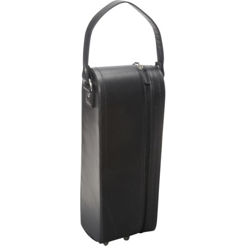 amerileather-leather-single-wine-case-holder-black