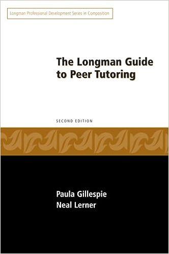 Amazon longman guide to peer tutoring 2nd edition amazon longman guide to peer tutoring 2nd edition 9780205573325 paula gillespie neal lerner books fandeluxe Choice Image