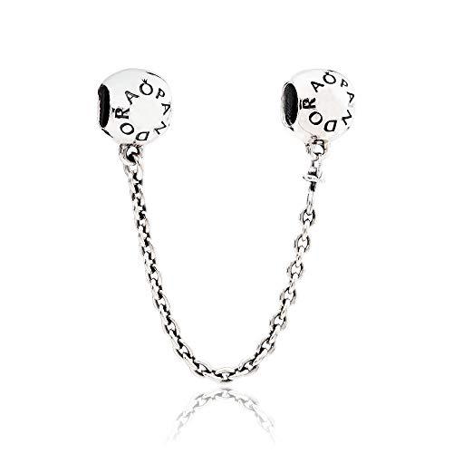 Pandora Signature Safety Chain Silver Bracelet 79187705