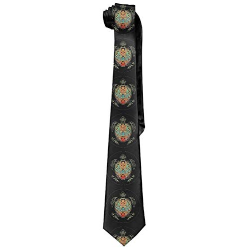 Rogue Status Gun - Soft Texture,Necktie Men's Rogue Status Gun Show Soft Fashion Novelty Necktie Tie Neck Tie