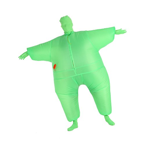 Decdeal Funny Adult Size Inflatable Full Body Costume Suit -