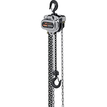Ingersoll Rand Manual Chain Hoist 1-Ton Capacity, 10 Ft. Lift, Model# SMB010-10-8V