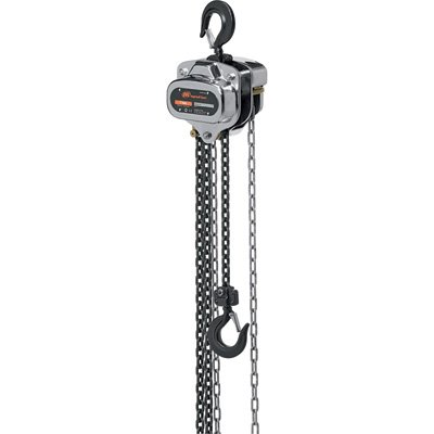 Ingersoll Rand Manual Chain Hoist - 3-Ton Lift Capacity, 10-ft. Lift, Model# SMB030-10-8V