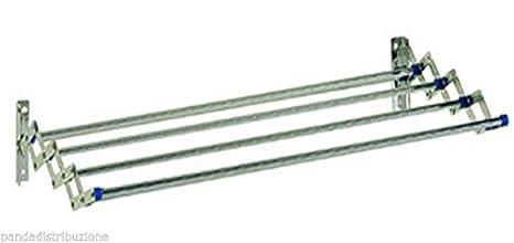 Tendedero de acero inoxidable 18/10 cm. 80 cm.: Amazon.es ...